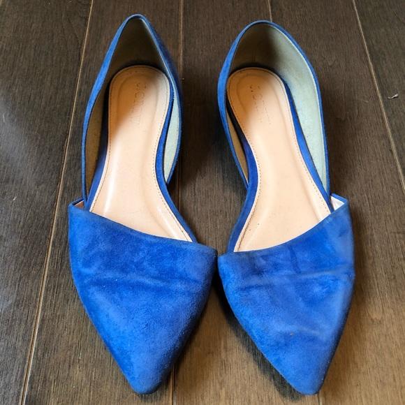 J. Crew Shoes - J. Crew royal blue flats